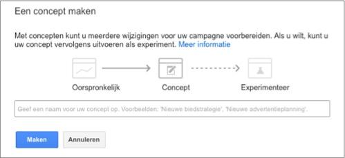 adwords testen campagnes