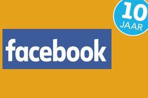 Facebook bestaat 10 jaar!
