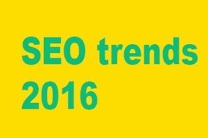 De SEO-trends van 2016