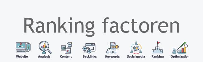 Ranking factoren