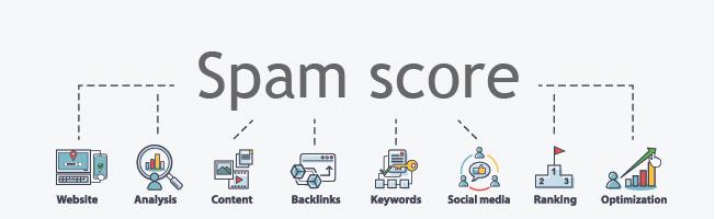 Spam score