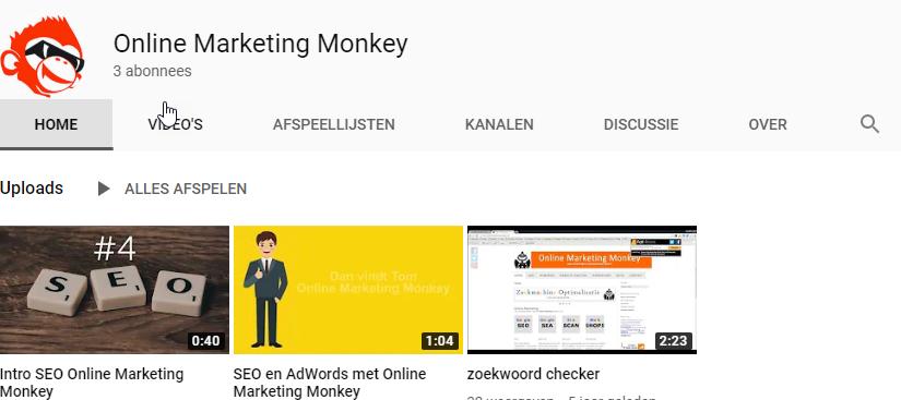 YouTube kanaal OMM