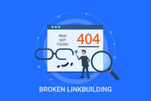 Broken linkbuilding