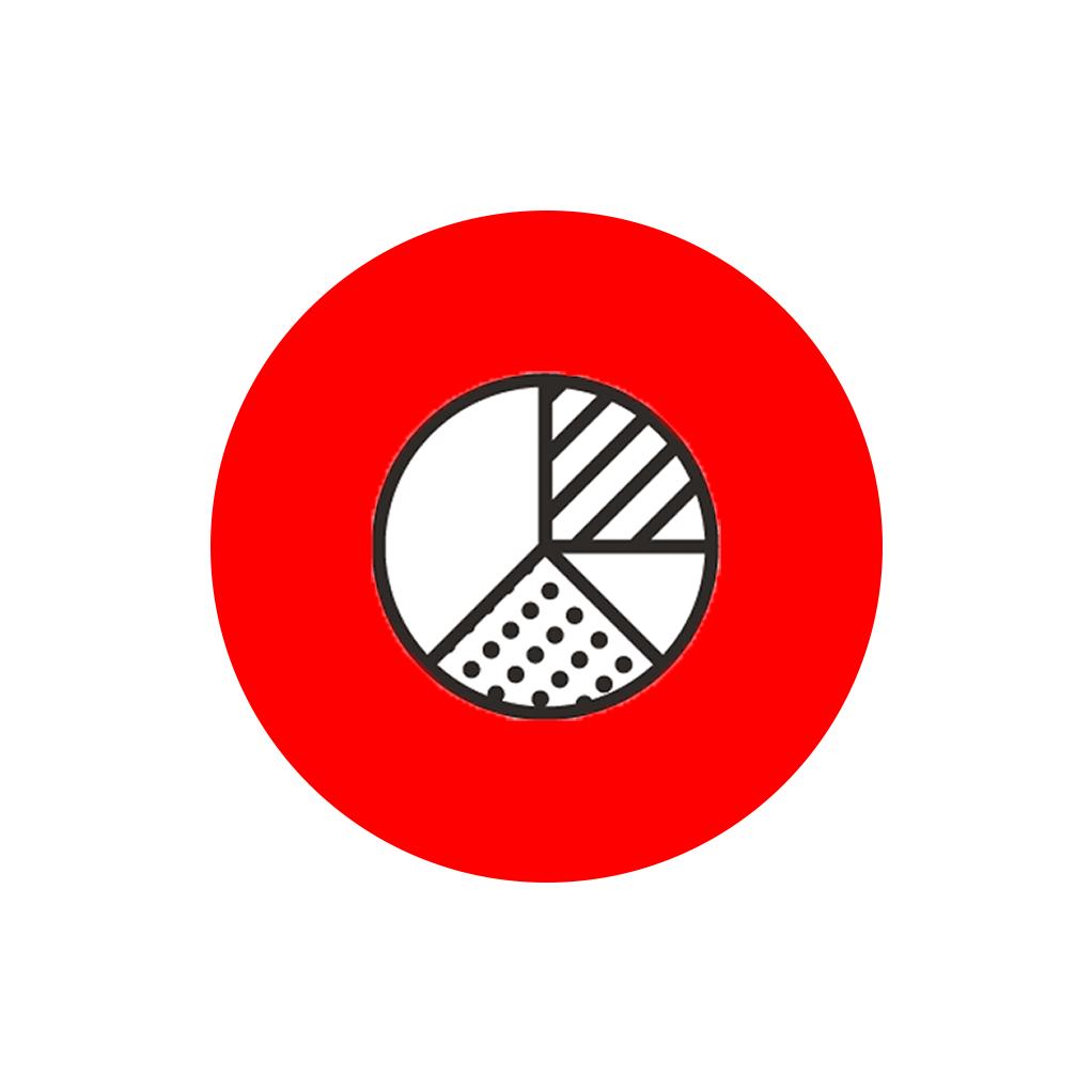 Icon zoekwoord-analyse