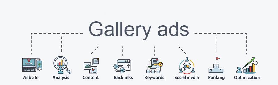 Betekenis van de SEO-term Gallery Ads