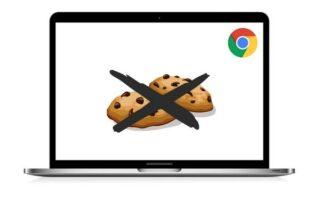 Chrome cookies verdwijnen