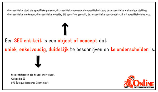 Wat is een SEO entity