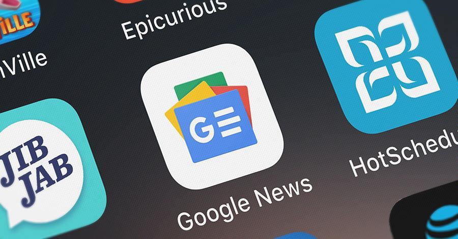 Google News toont je artikels die recent, relevant of gevolgd worden voor en door jou.