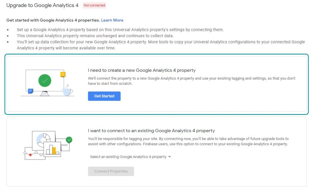 Upgraden naar Google Analytics 4