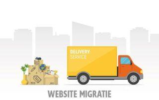 Wat is een website migratie?