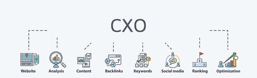 Betekenis SEO-term CXO