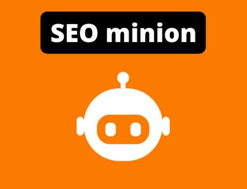 SEO Minion: de tool van 2021 (video)